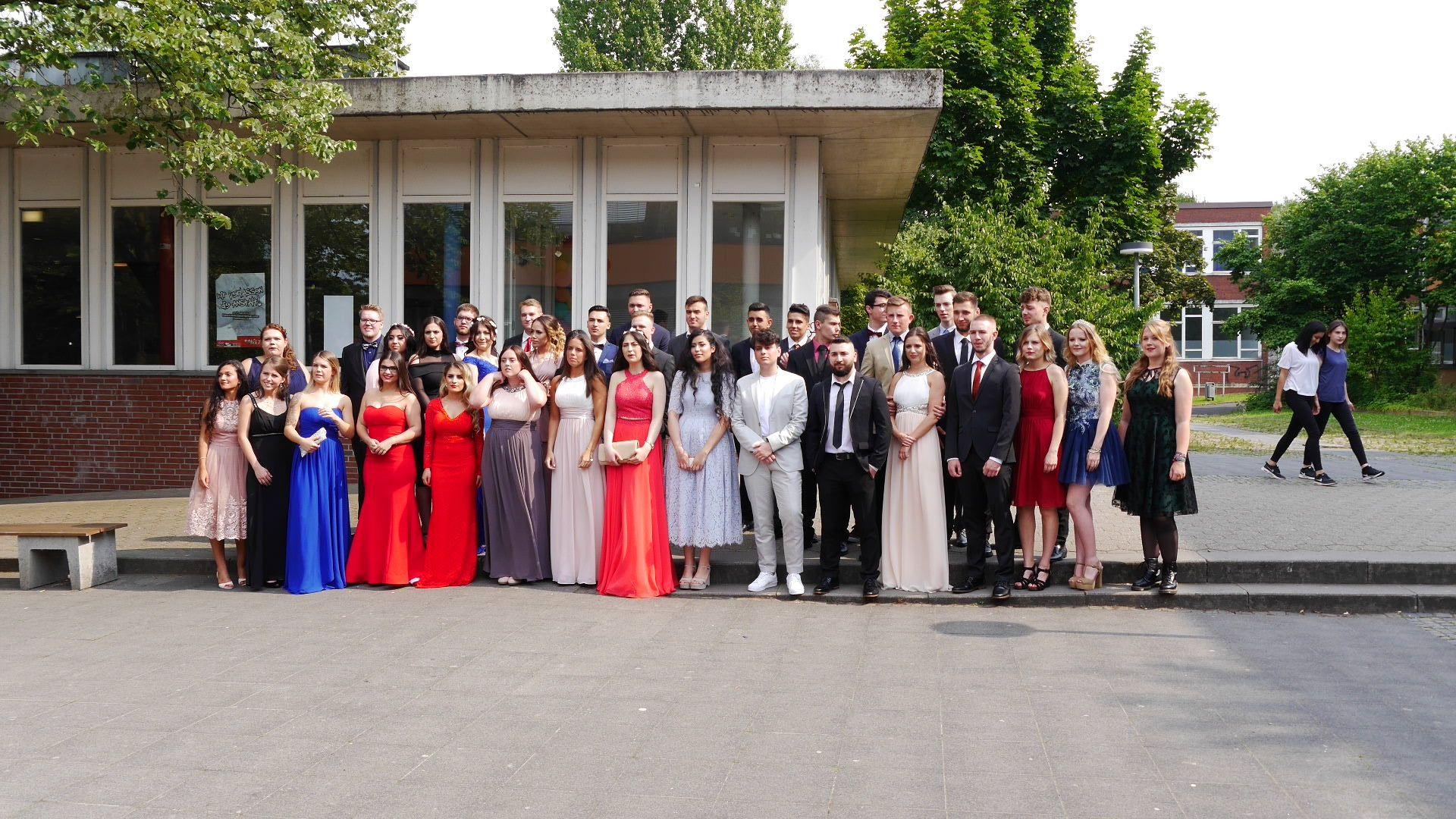 Abitur 17 Gruppenfoto