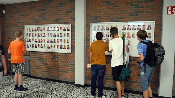 Neue Fotowand Kollegium