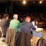 Podium und Publikum
