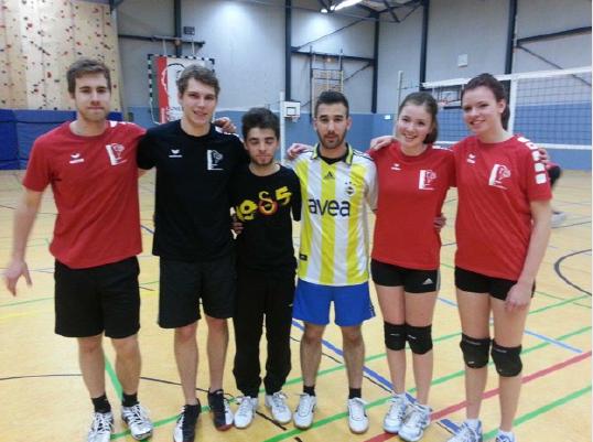 KKG fördert Volleyballtalente