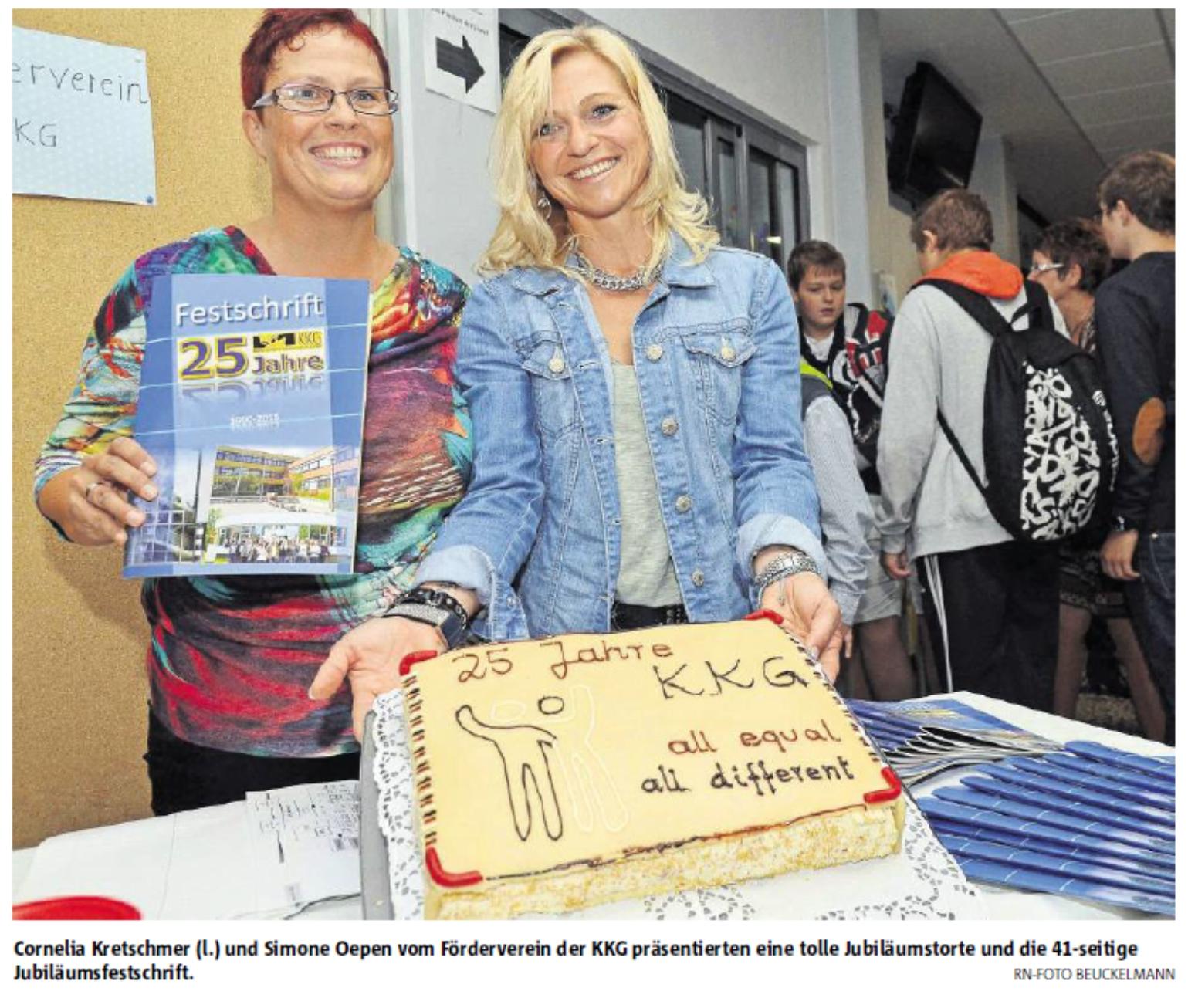 Der Bericht über unser Schulfest in den Ruhr Nachrichten