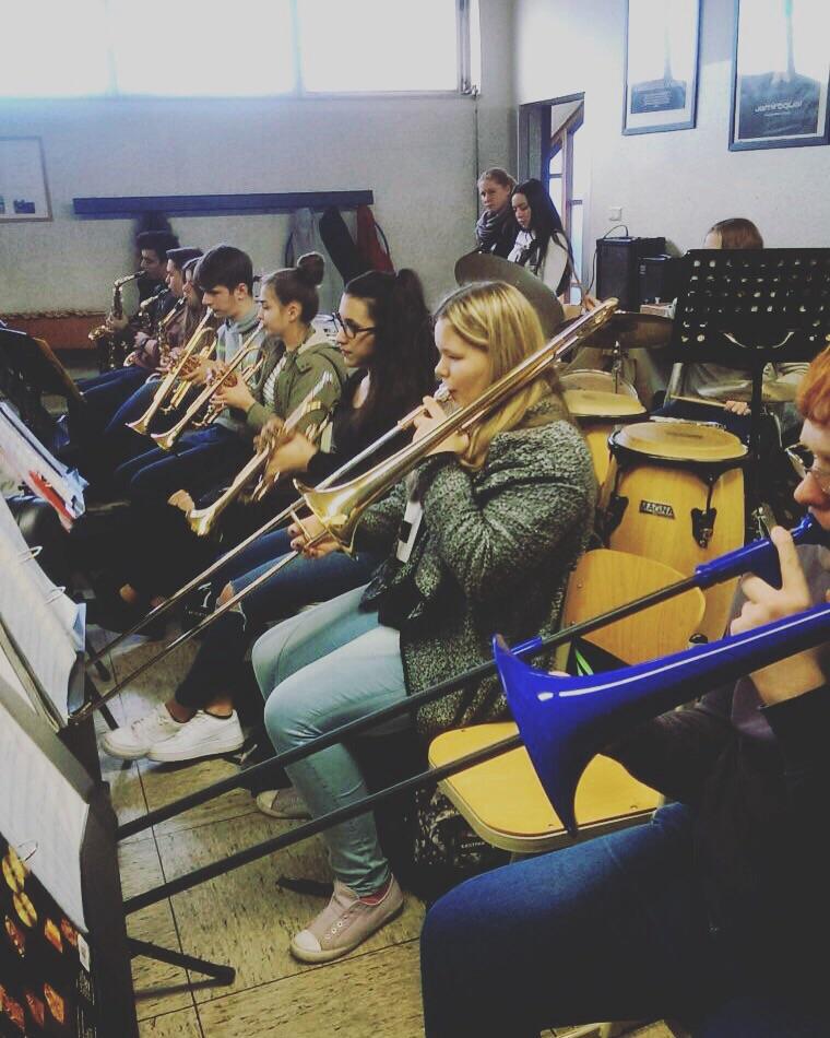 Probenwoche der Musikklassen in Oer-Erkenschwick