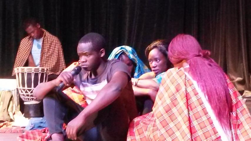 Hope Theatre erneut zu Besuch an der KKG