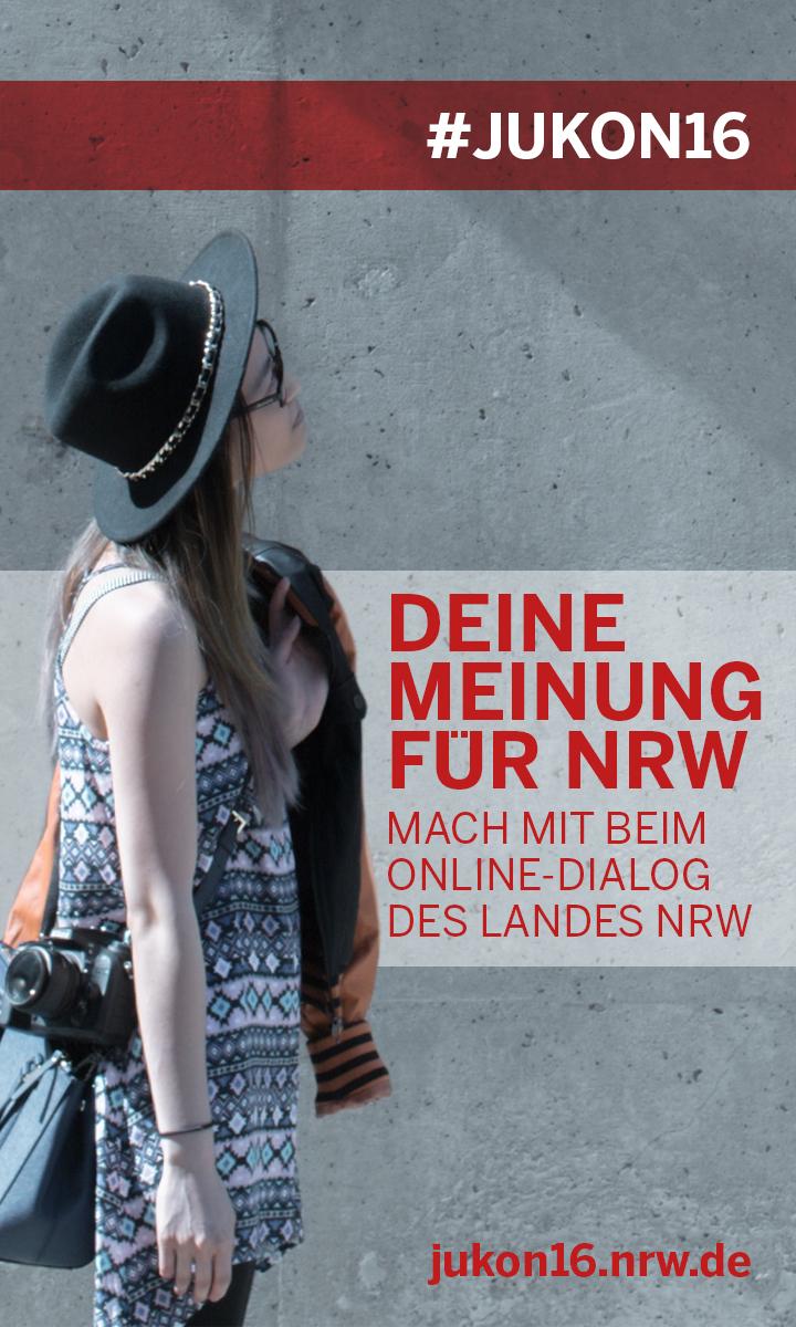 Einladung des Landes NRW zum Online-Dialog JUKON