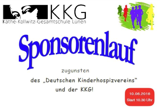 Informationen zum Sponsorenlauf der KKG am 10. Juni 2016
