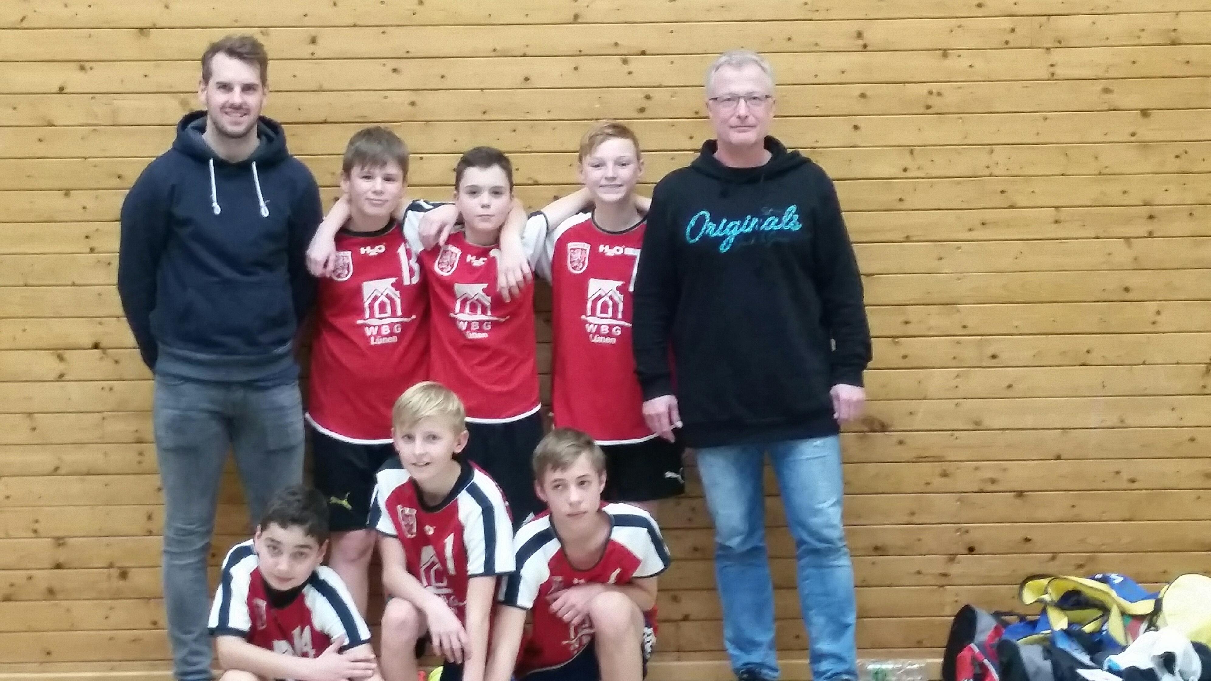 Sieger der Herzen bei den Bezirksmeisterschaften im Volleyball