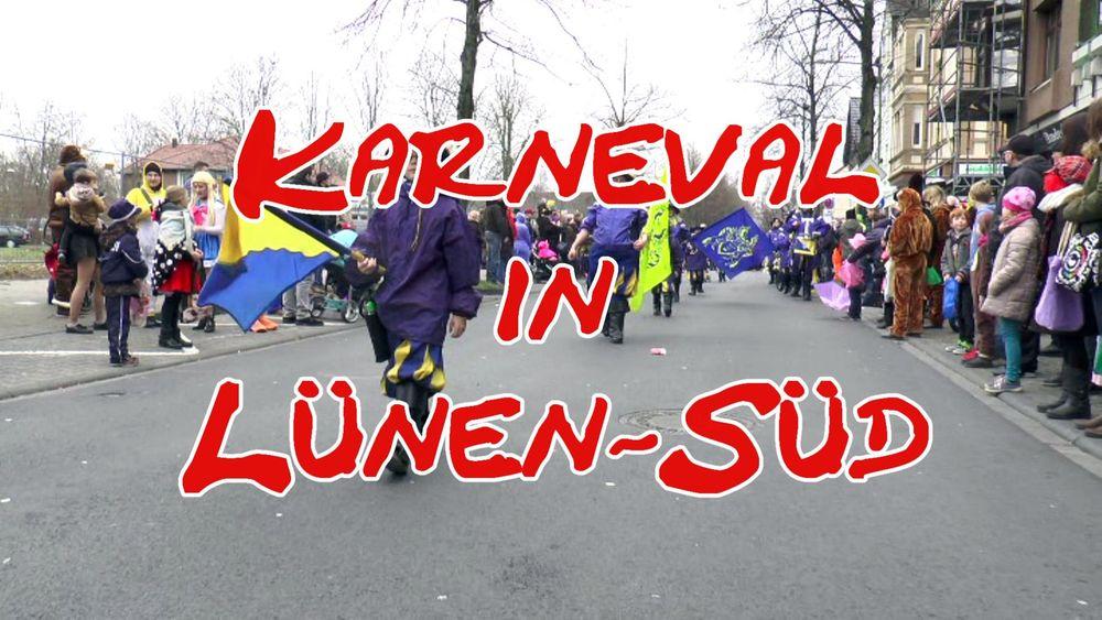 Der Karnevalsumzug in Lünen-Süd – Wir waren dabei!