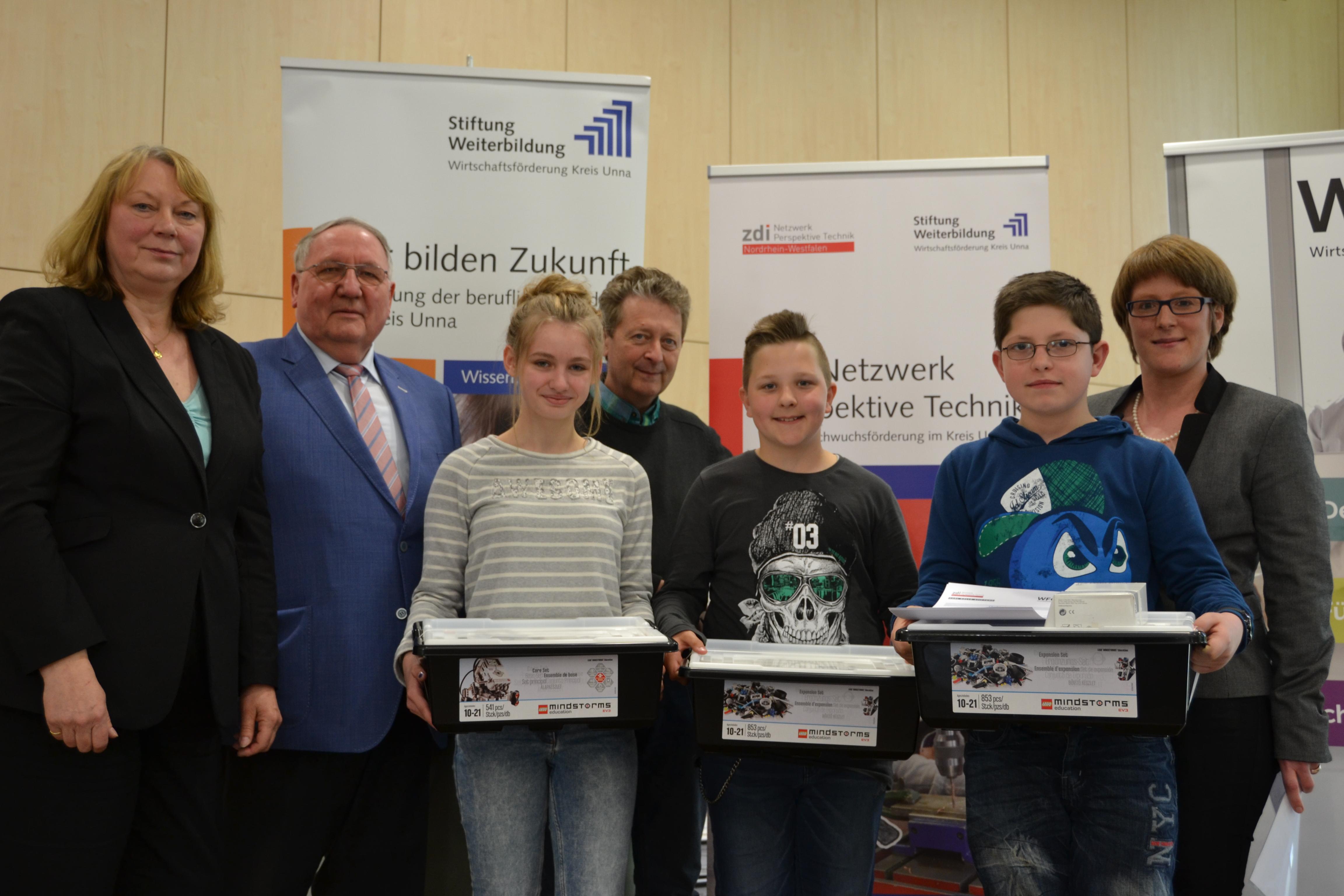 Gründe deine Robotik AG: Sieben Schulen erhalten Starter-Set