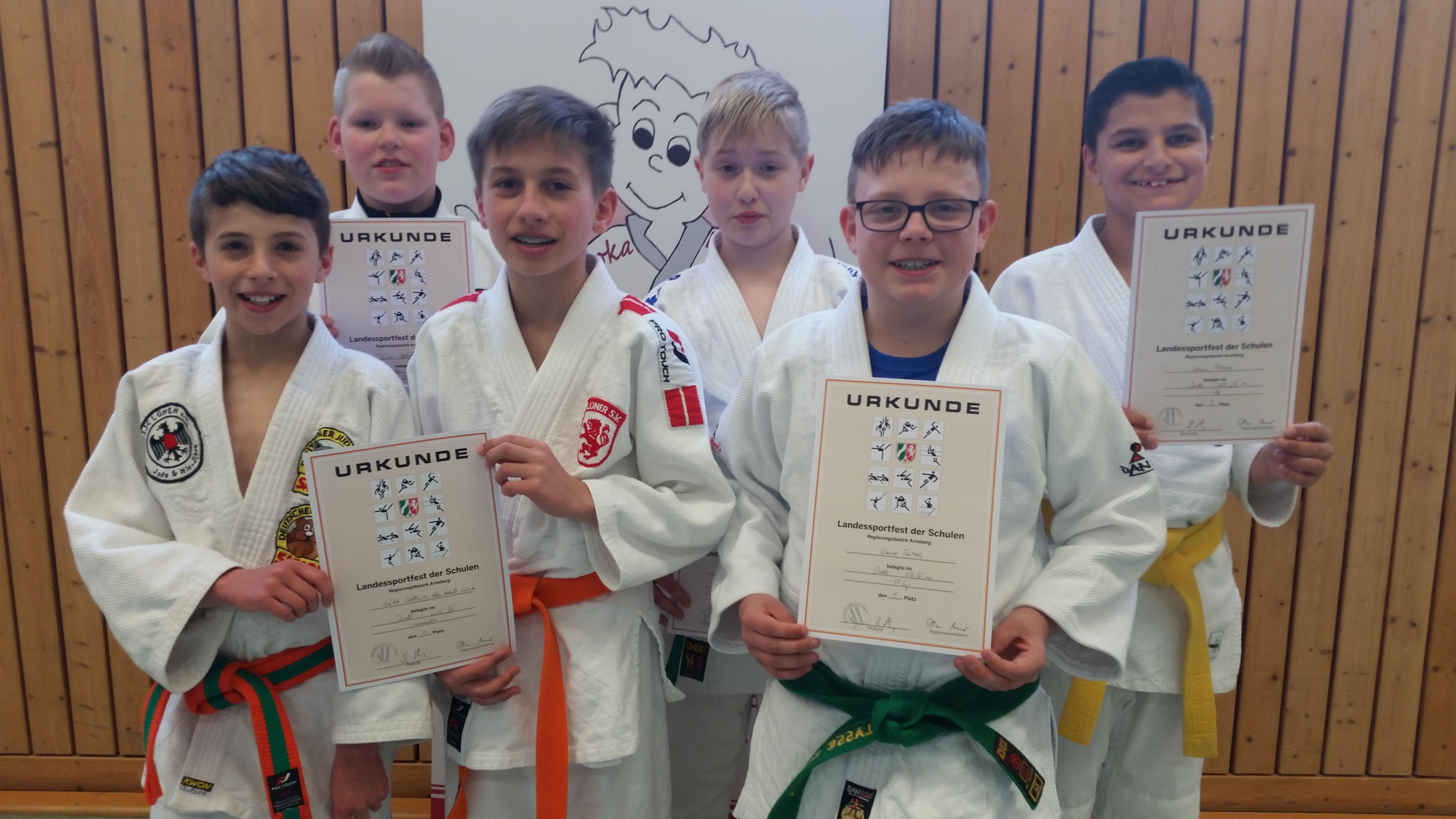KKG-Judoka überraschen mit Rang zwei