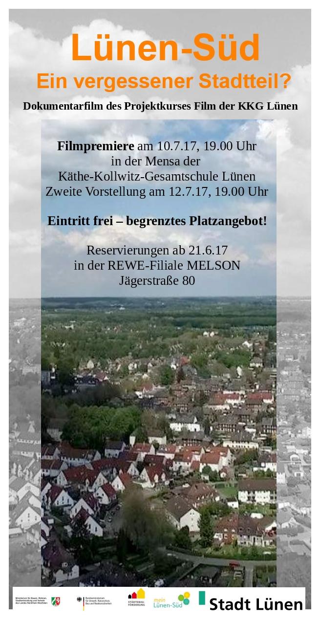 """Filmpremiere """"Lünen-Süd – Ein vergessener Stadtteil?"""""""