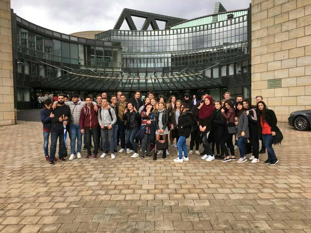 Ausflug der Sowi-Kurse des 12. Jahrgangs zum Landtag NRW