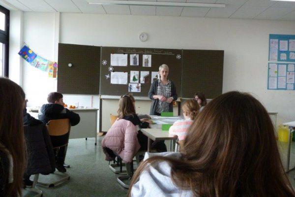 Deutsch bei Frau Lethaus