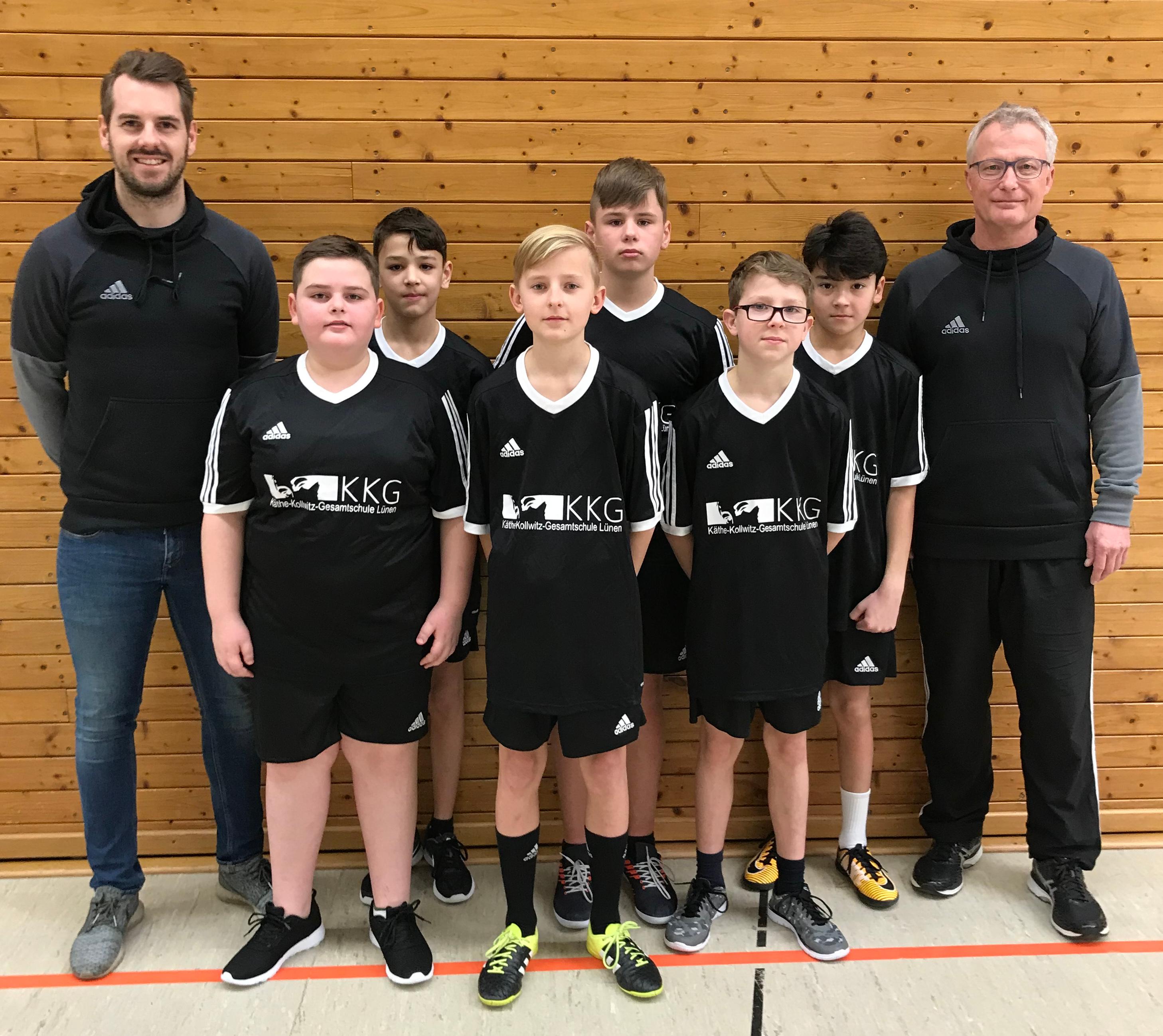 KKG-Volleys mit 6. Platz bei den Bezirksmeisterschaften