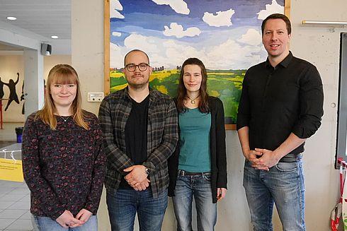 Neue Praxissemester-StudentInnen an der KKG