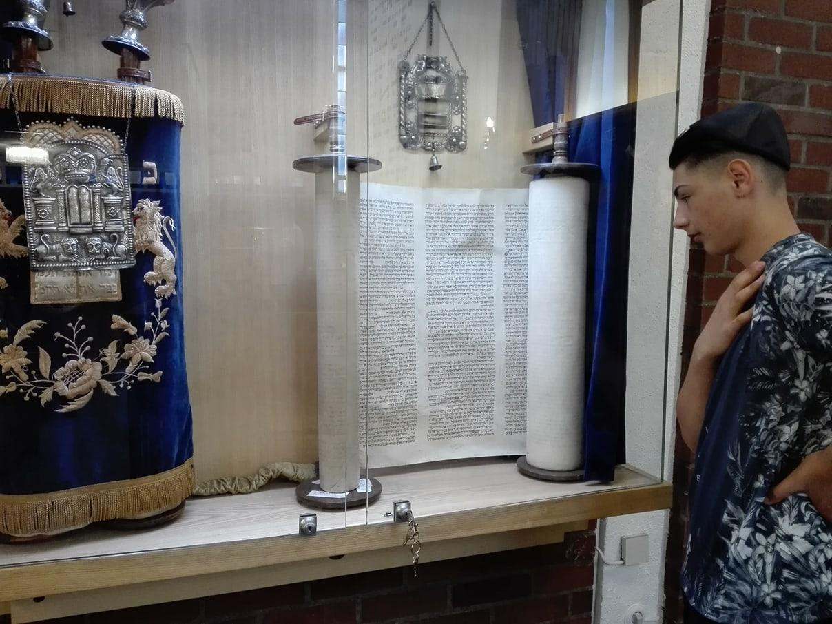 Besuch einer Synagoge