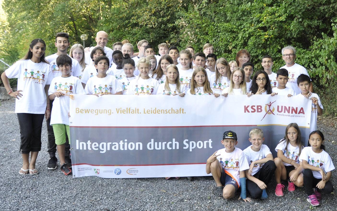Das integrative Feriensprachwerk 2018 des KreisSportBundes Unna e.V.
