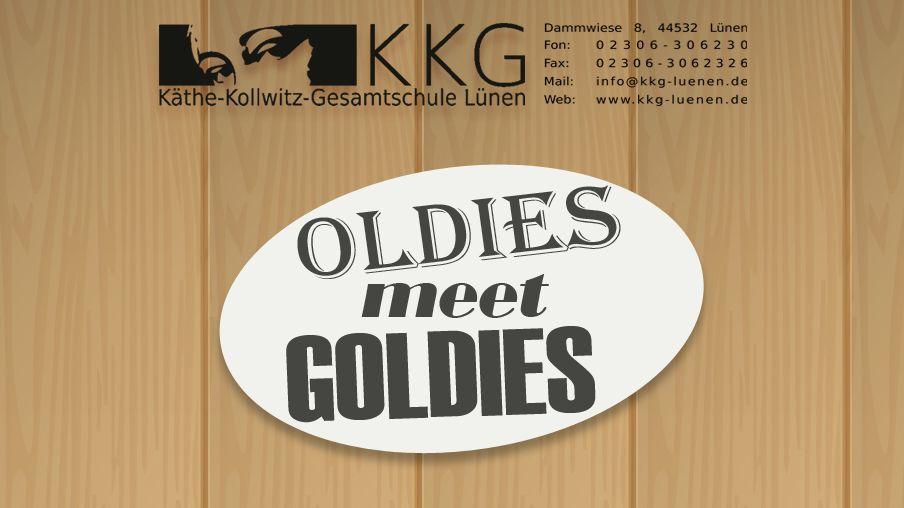 Save the date – Oldies meet Goldies