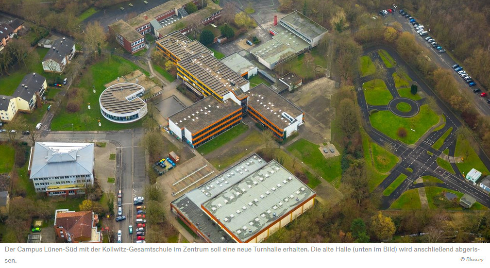 Neue Sporthalle für Lünen-Süd – RN berichten