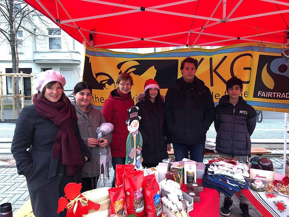 Unser Weltladen auf dem Weihnachtsmarkt in Lünen-Süd
