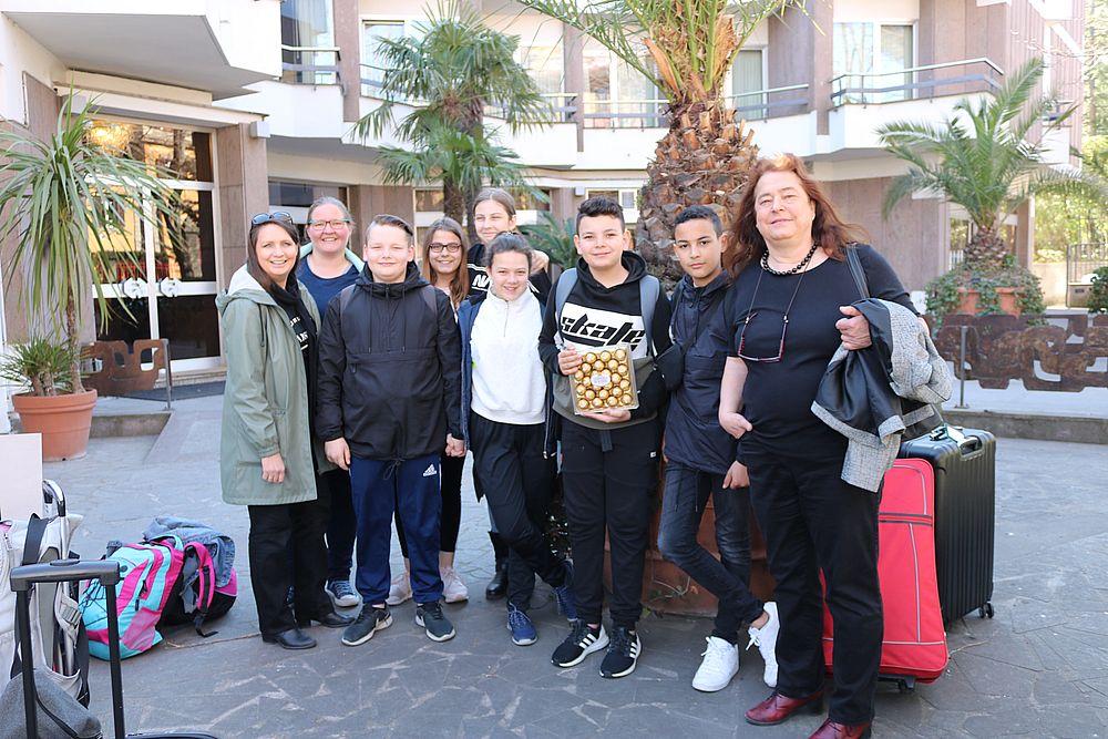 Mit dem Erasmus-Projekt in Italien