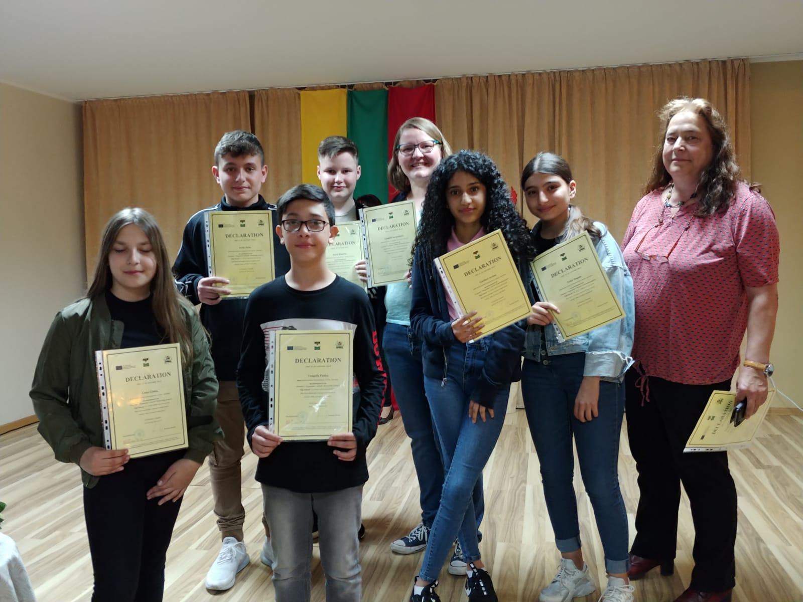 """Erasmus-Projekt """"Digi Schools"""" besucht Litauen"""