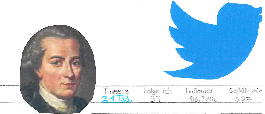 Immanuel Kant goes Social Media