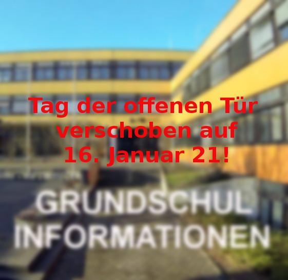 Tag der offenen Tür verschoben auf 16. Januar 21 – Unsere Schulbroschüre!