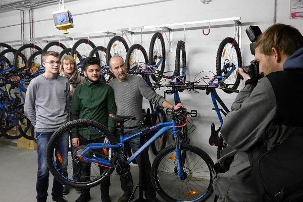 Fahrradwerkstatt Gruppenbild