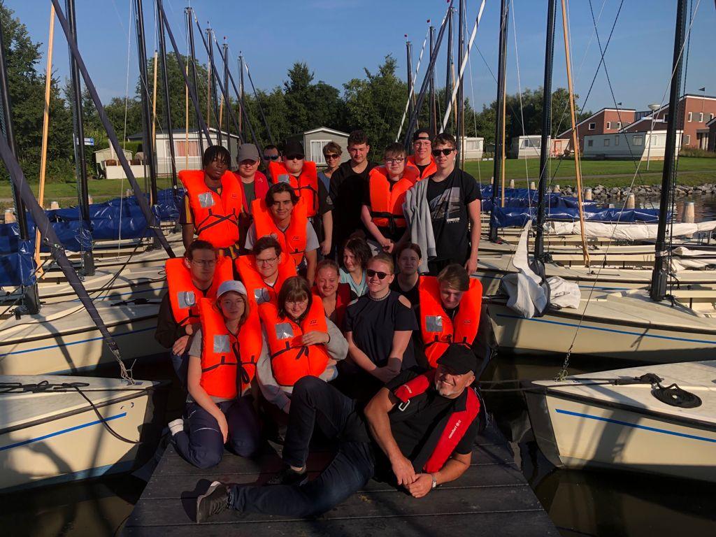 Segeltörn der Segel-AG in Koudum, NL